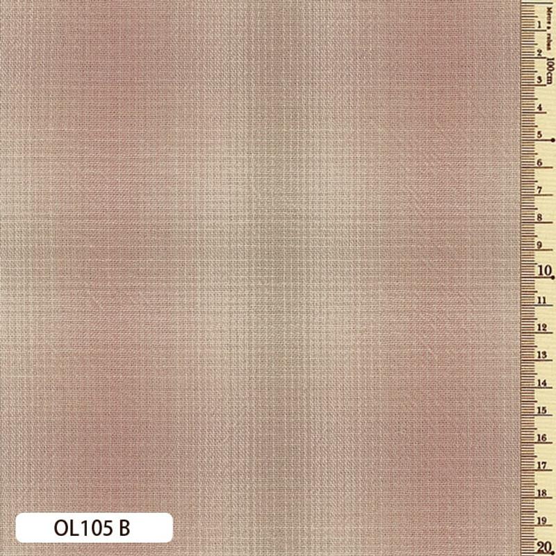 Sakizome Momen Fabric Original 105B Dusty Pink OL105B