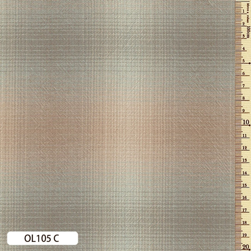 Sakizome Momen Fabric Original 105C Grey OL105C