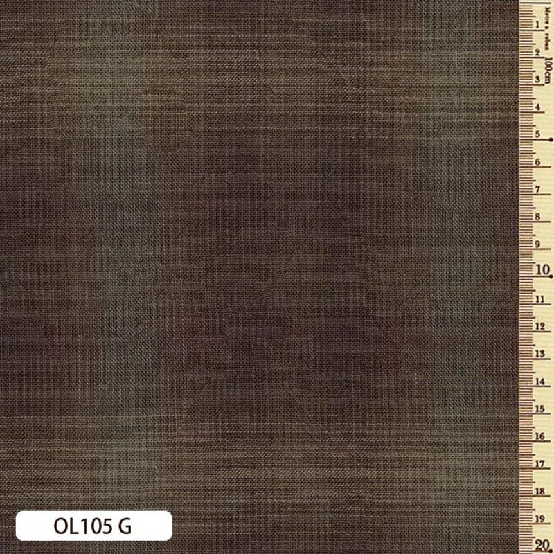 Sakizome Momen Fabric Original 105G Dark Brown OL105G