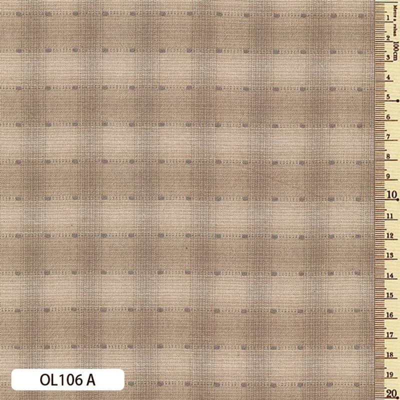 Sakizome Momen Fabric Original 106A Fawn OL106A
