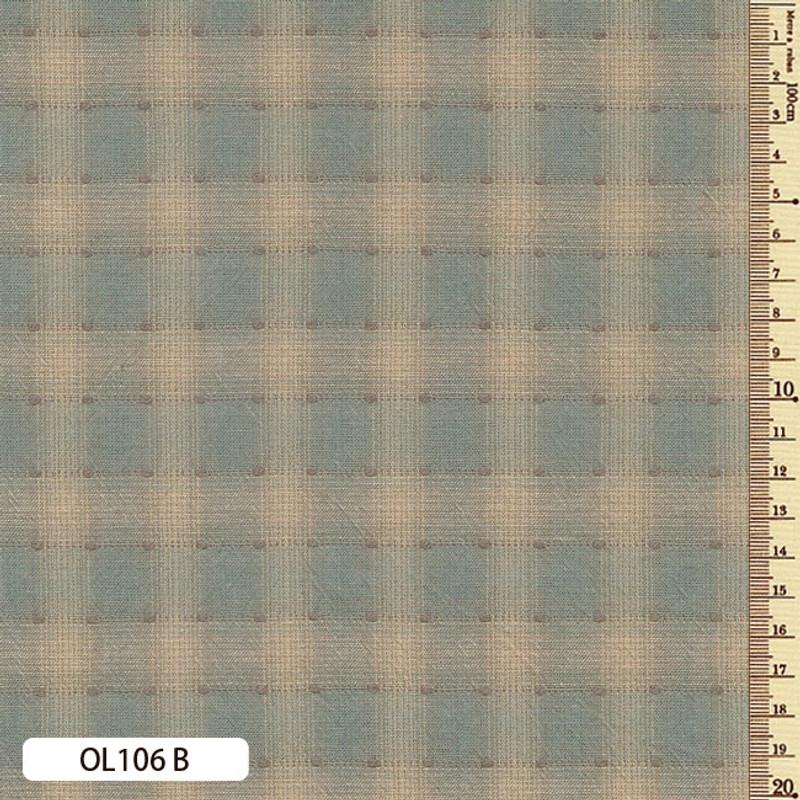 Sakizome Momen Fabric Original 106B Light Blue OL106B