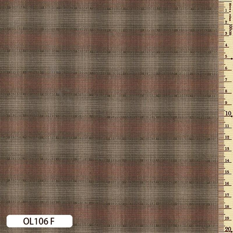Sakizome Momen Fabric Original 106F Rust OL106F