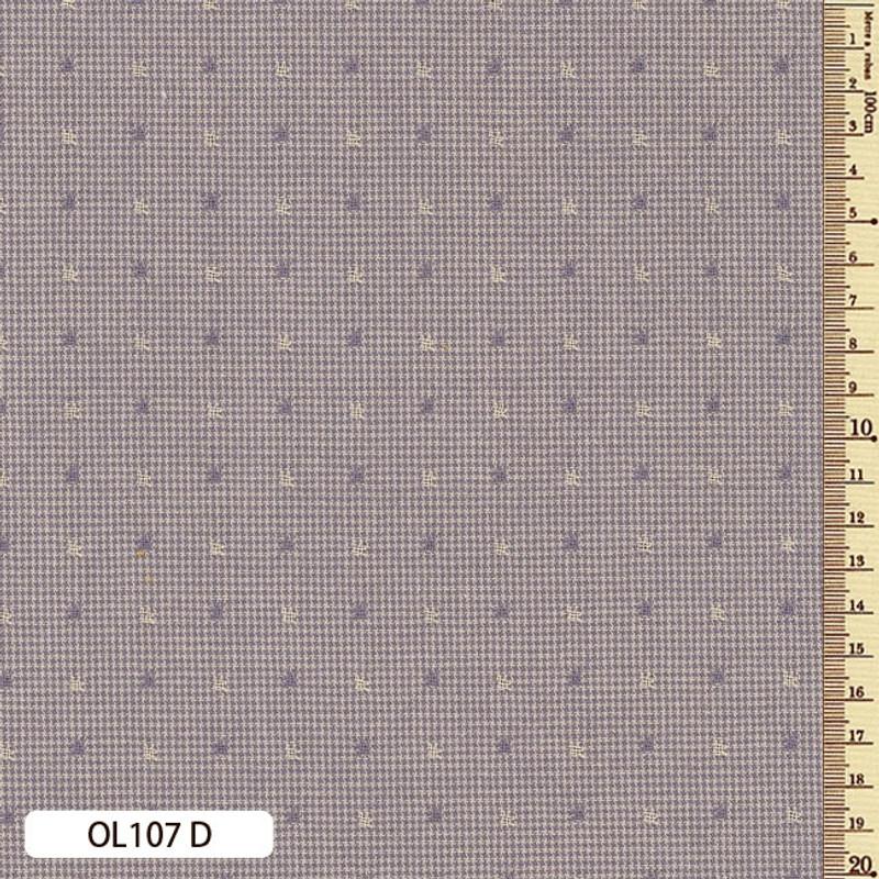 Sakizome Momen Fabric Original 107D Dusty Purple OL107D