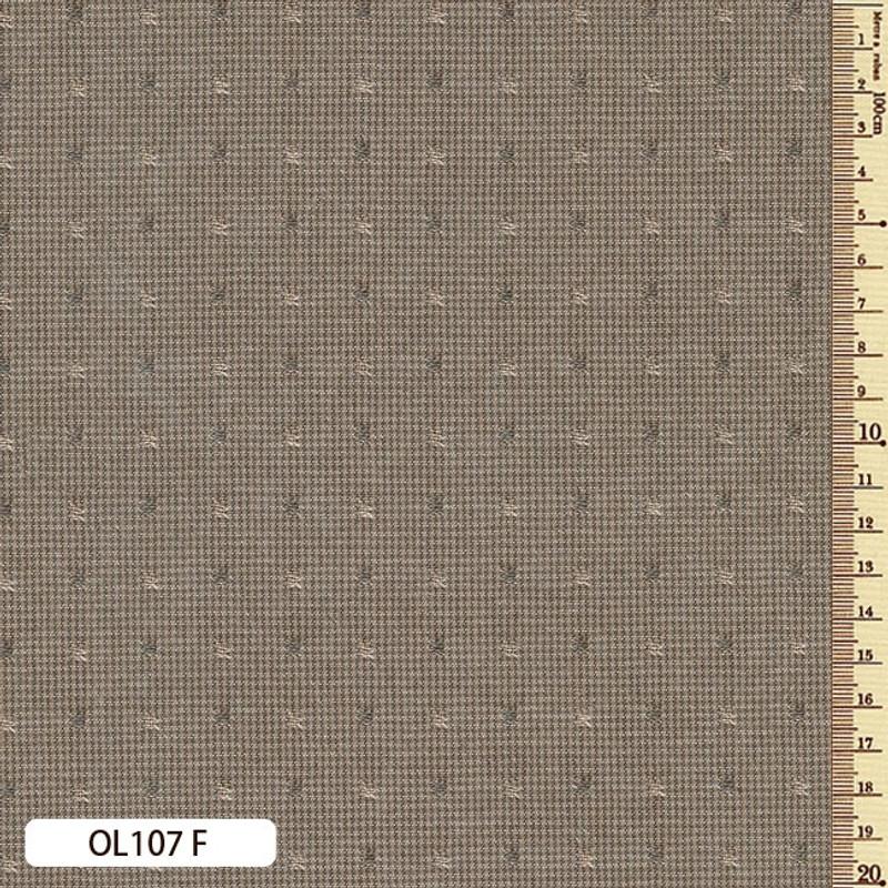 Sakizome Momen Fabric Original 107F Light Brown OL107F
