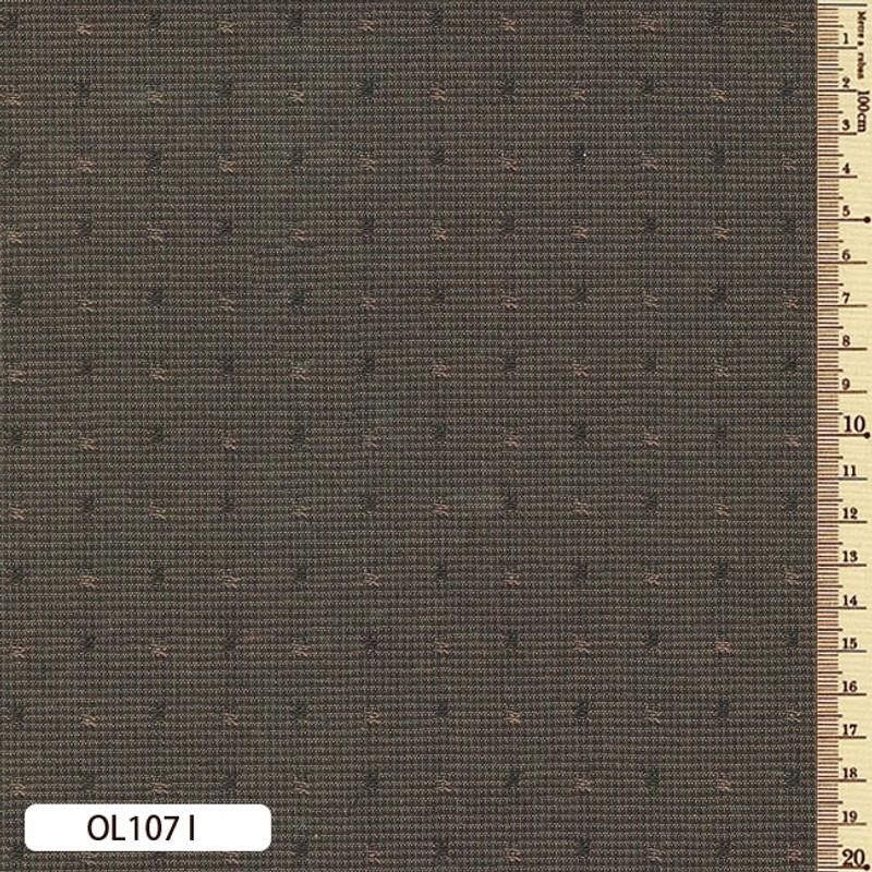 Sakizome Momen Fabric Original 107I Dark Brown OL107I