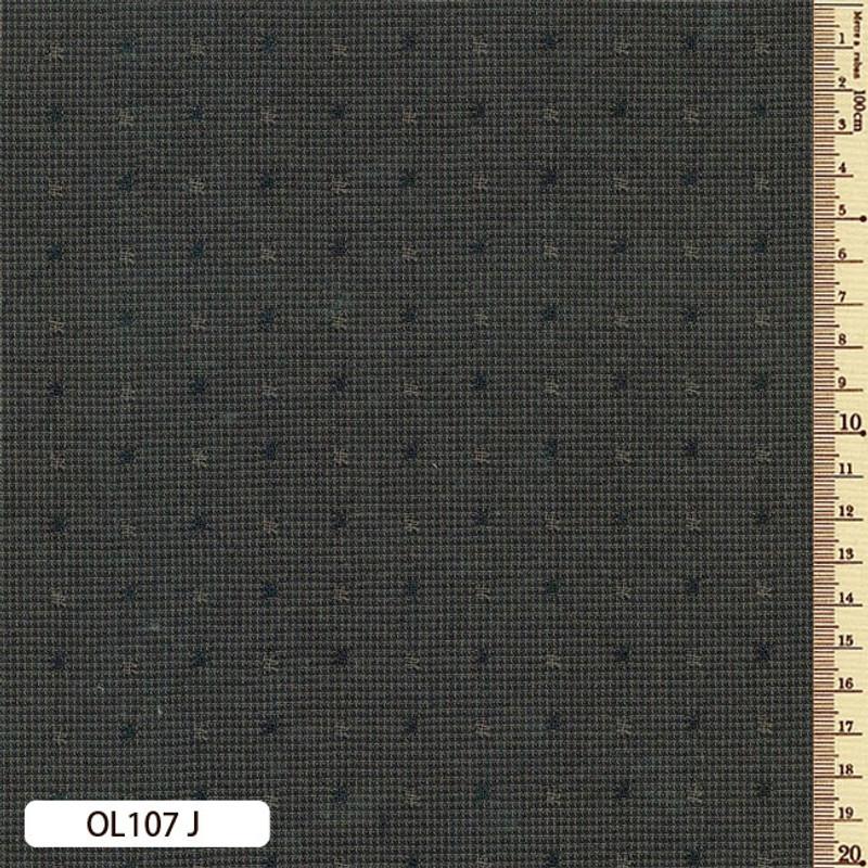 Sakizome Momen Fabric Original 107J Dark Grey OL107J