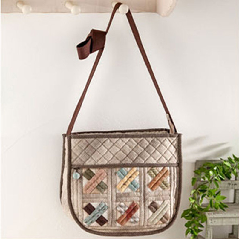 Olympus Patchwork Kit Patchwork Mosaic Shoulder Bag PA-607