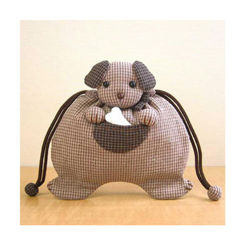 Olympus Patchwork Kit Puppy Drawstring Pouch PA-500