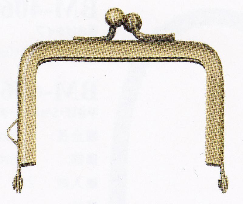 Purse Frame 12 BK-671AG