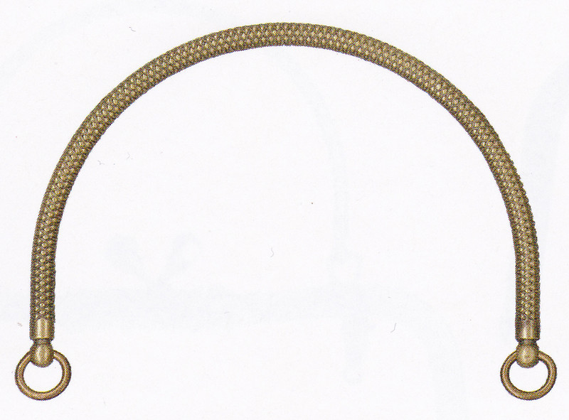 Purse Handles Antique Gold BK-1177