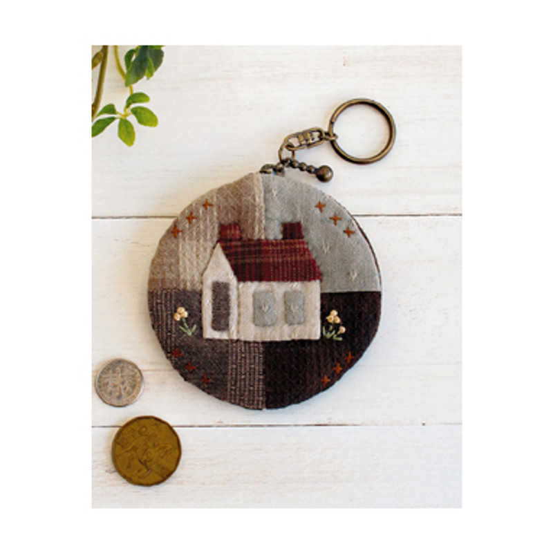 Round Coin Purse with Key Ring SP-3