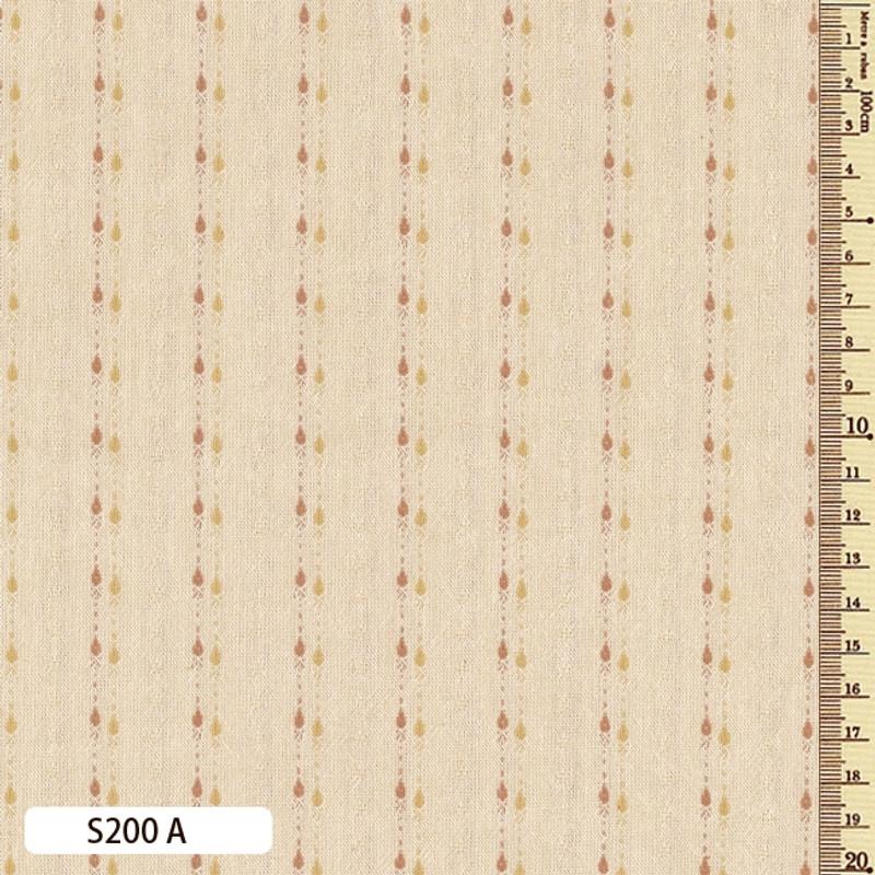 Sakizome Momen Fabric Shizuku A S200A