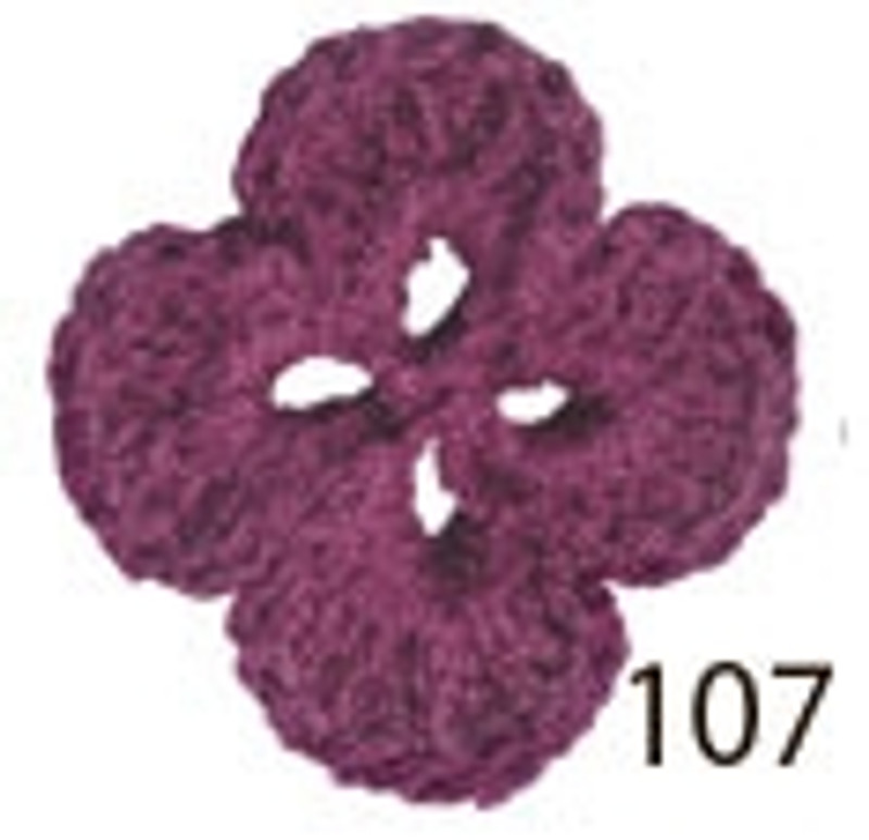 Crochet Thread Souffle Thin Violet STN-107