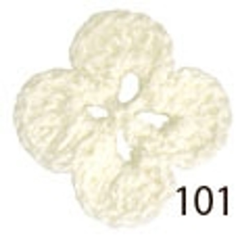 Crochet Thread Souffle Thin White STN-101