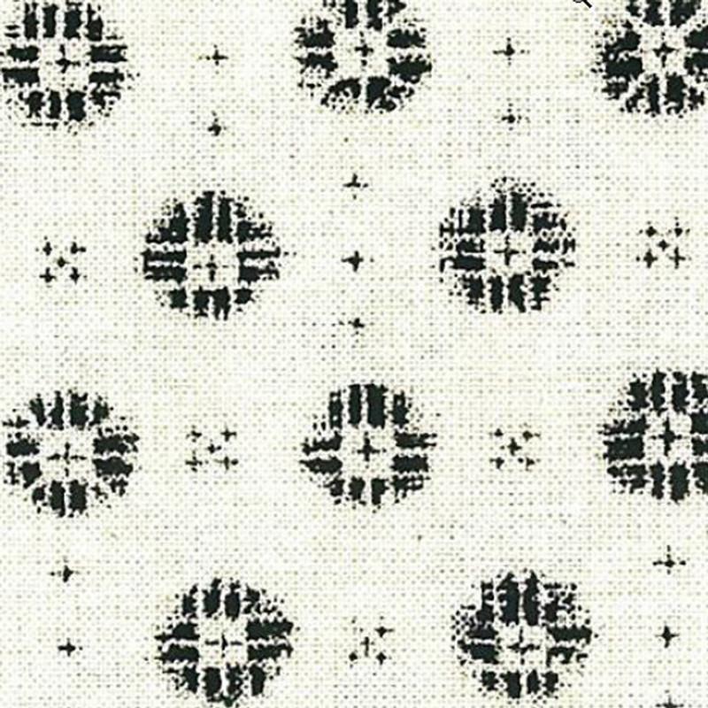 Takumi Printed Cotton Fabric White 12N-2AA