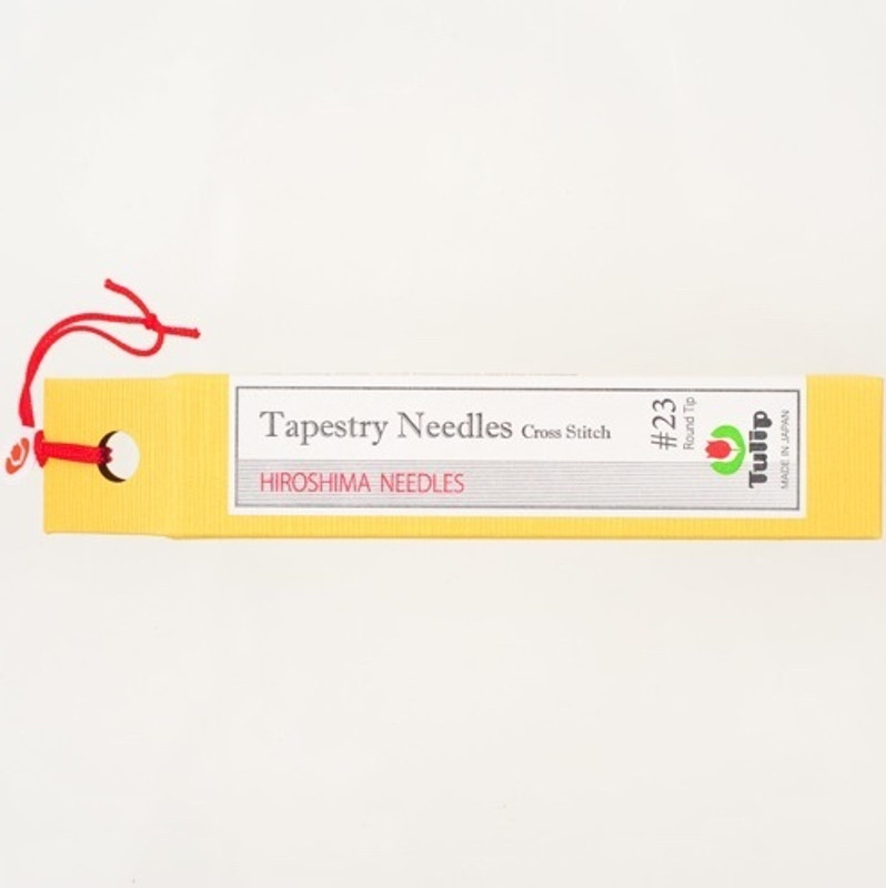 Tapestry Needles Cross Stitch #23 Round Tip THN-026e