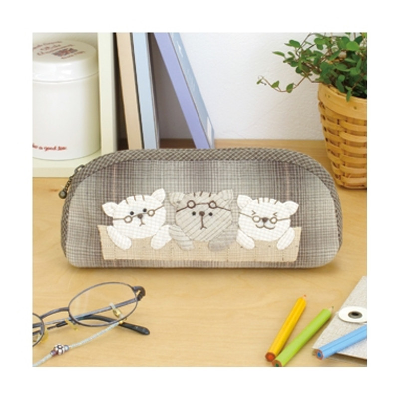 Olympus Patchwork Kit Three Brothers Glasses Case PA-637