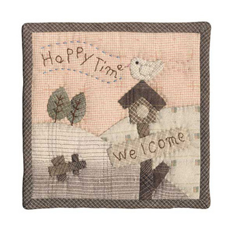 Olympus Patchwork Kit Welcome Happy Time Small Quilt PA-506