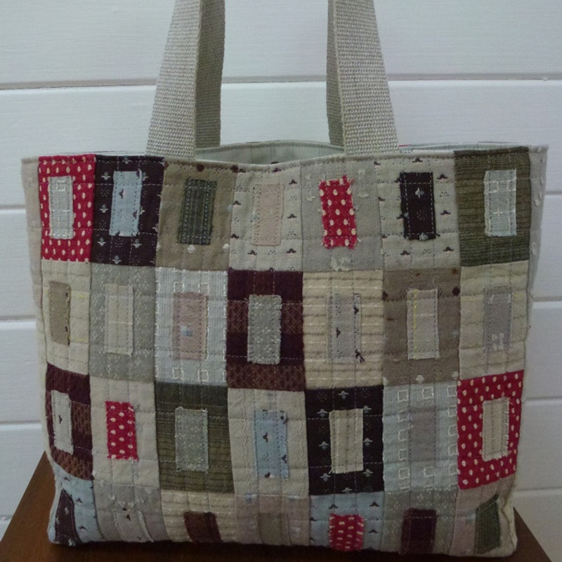 Window Shopper Shopping Bag Pattern PBWS-1012