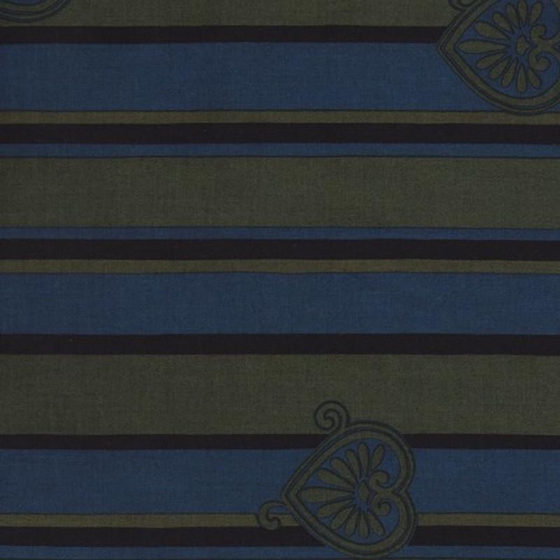 Yukata Printed Cotton Fabric Multi-Coloured TY-0537