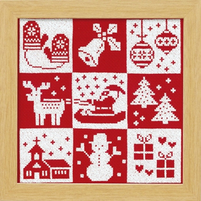 Festive Christmas Cross-stitch X-102