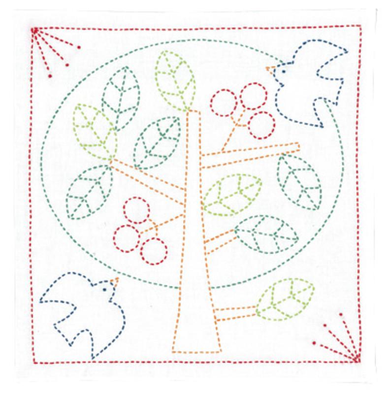 Olympus Sashiko Kit Peace Tree SK-328