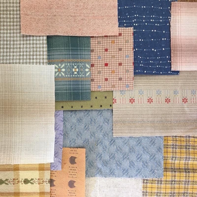 Boro Inspired Fabric Pack Light FP-BL16