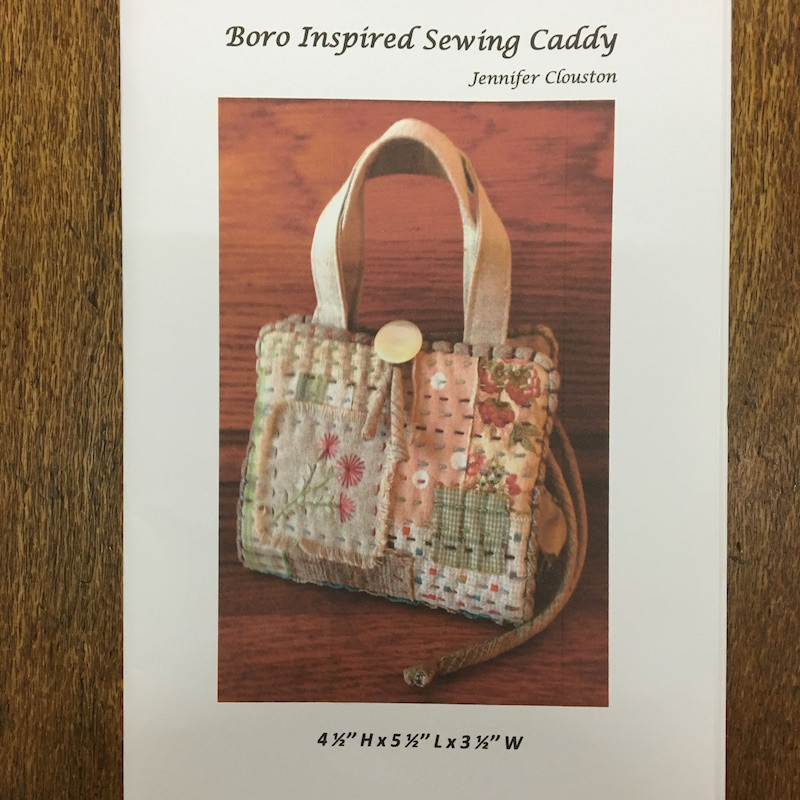 Boro Inspired Sewing Caddy by Jennifer Clouston CAD-2016