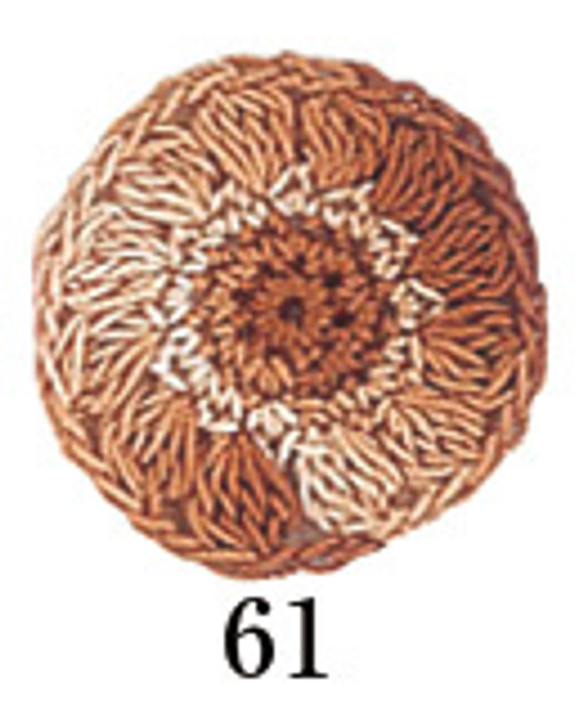 Crochet Thread Gold Label Shaded Brown GLS-61