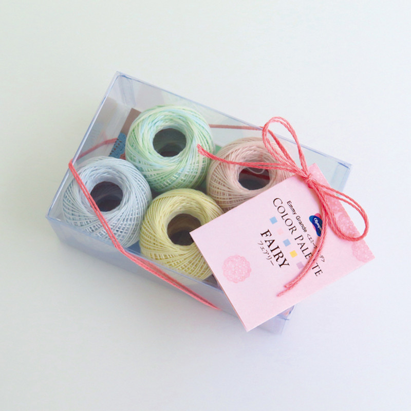 Crochet Thread Emmy Grande Color Palette Fairy Pack JAN-079401