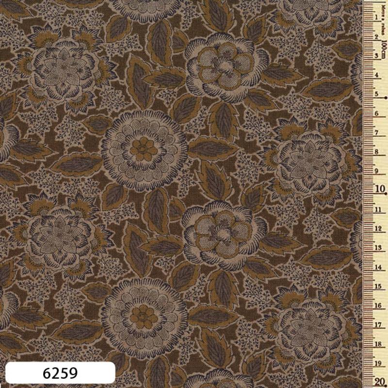 Printed Cotton Fabric Sarasa SAR-6259