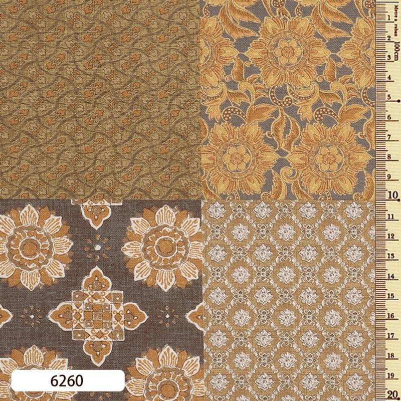 Printed Cotton Fabric Sarasa Panel SARP-6260