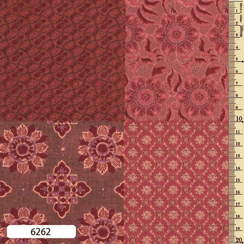 Printed Cotton Fabric Sarasa Panel SARP-6262