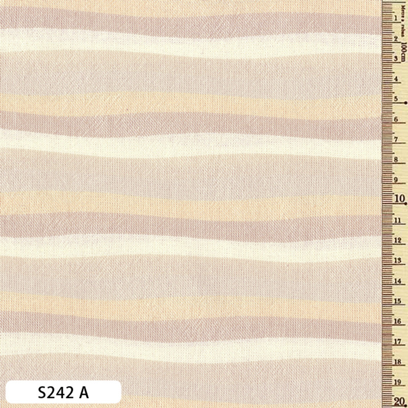 Sakizome Momen Fabric Wave S242A