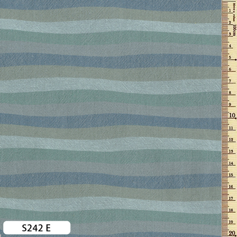 Sakizome Momen Fabric Wave S242E