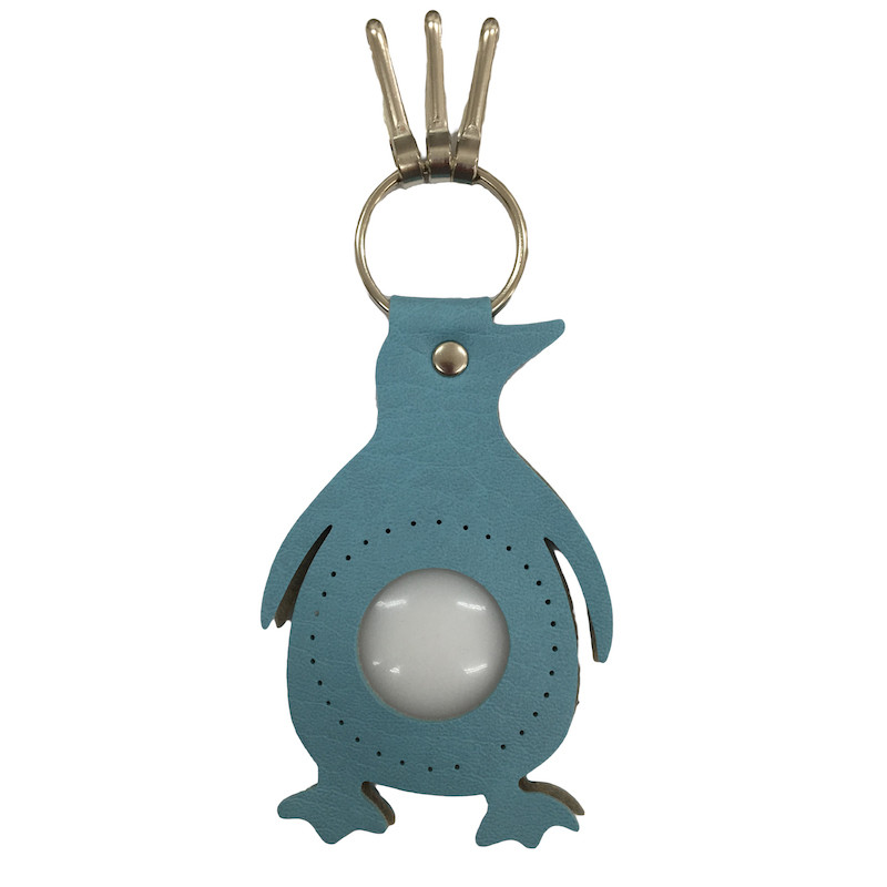 Penguin Keyring Light Blue BA-23S-18