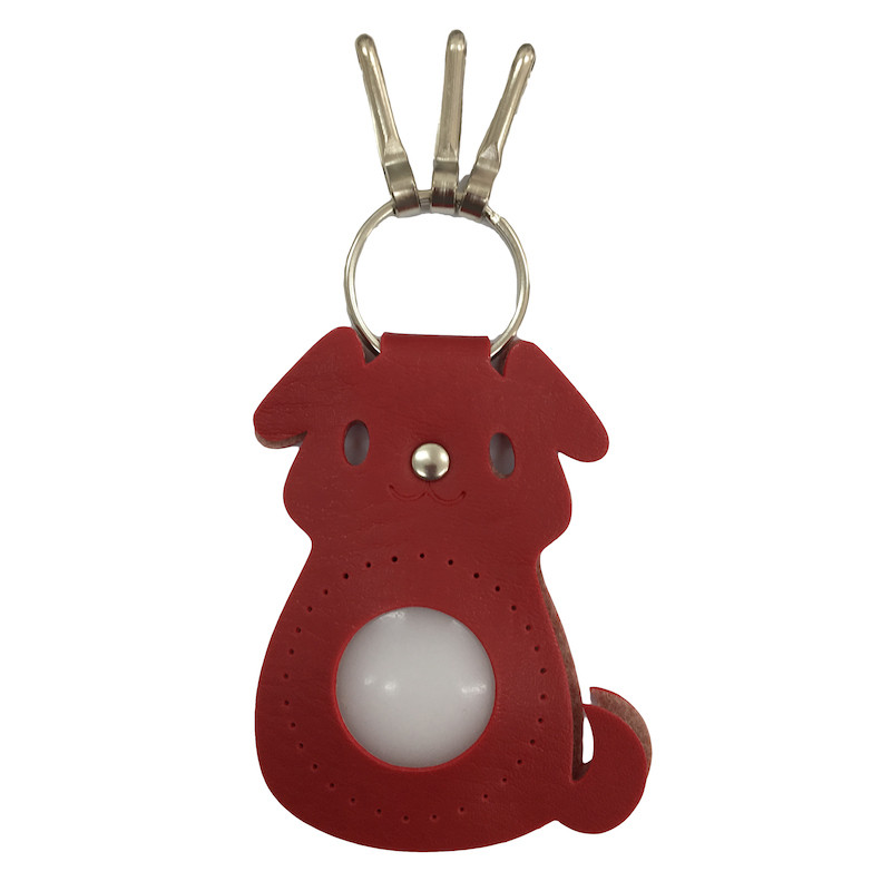 Dog Keyring Red BA-20S-2