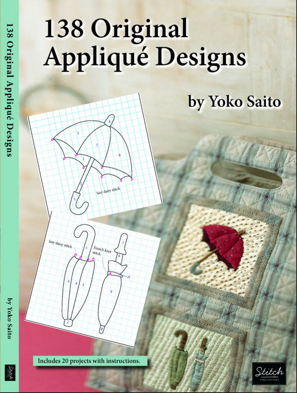 138 Original Applique Designs by Yoko Saito English Translation B-54295