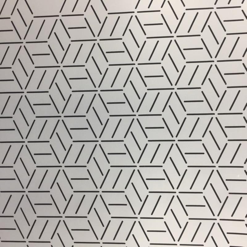 Quilting Stencil Marquetry Pattern QCI-BS247