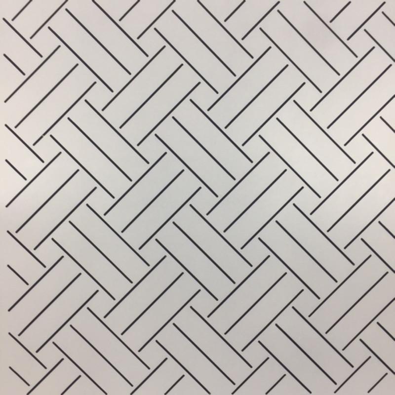 Quilting Stencil Wickerwork Pattern QCI-BS243