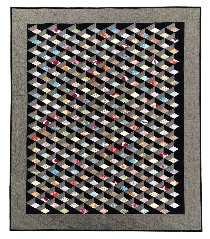 Diamond Attic Quilt Kit PKDAW-2016