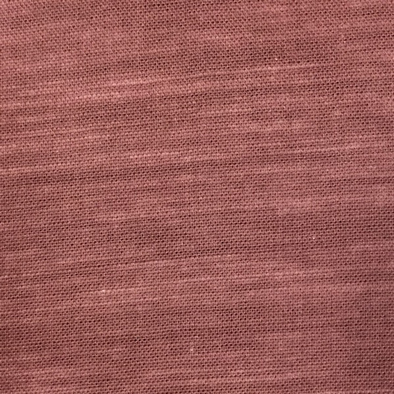 Takumi Cotton Fabric Plain Red Earth 11N-32R
