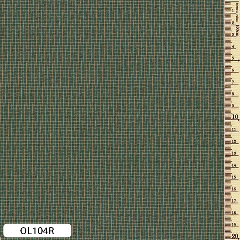 Sakizome Momen Fabric Original Dark Green OL104R