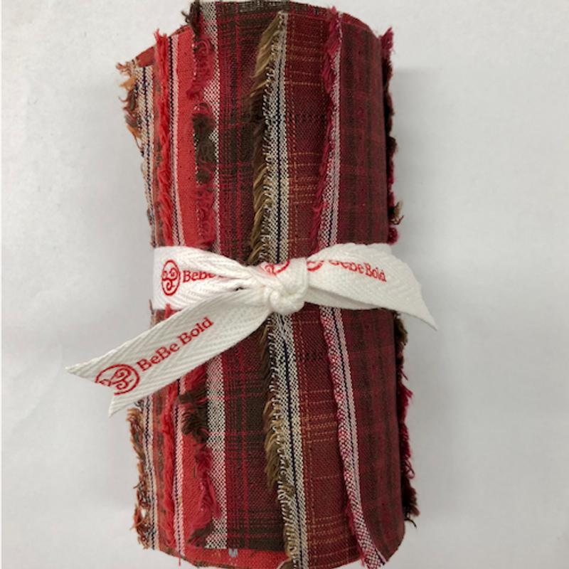 Yarn-Dyed Fabric Bundle Red YDFB-R