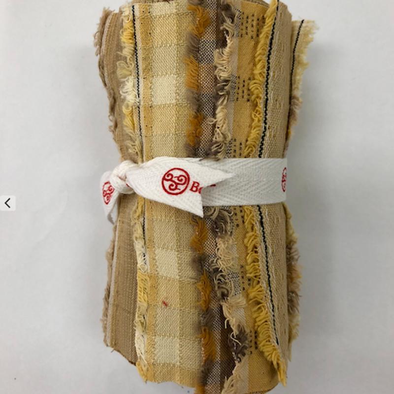 Yarn-Dyed Fabric Bundle Yellow YDFB-Y