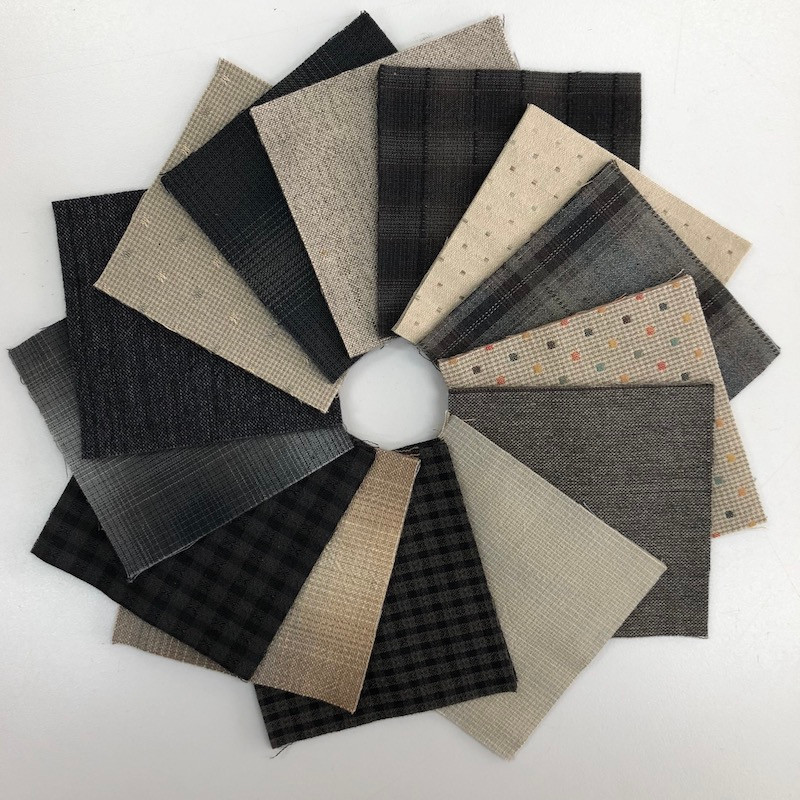 Sakizomemomen Cut Cloth Packs - Grey SMCC-005