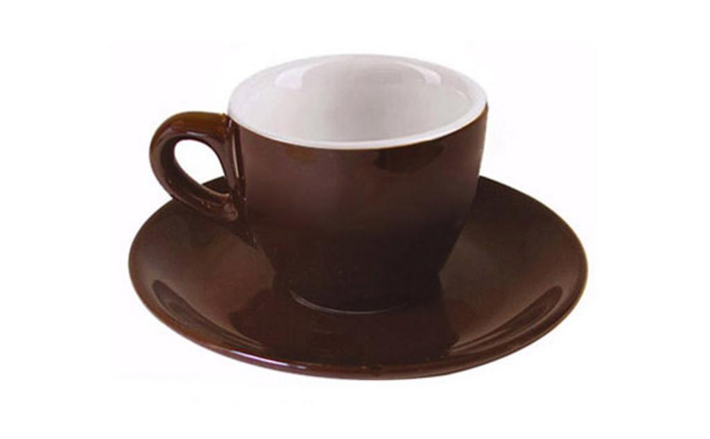 Dark Brown Espresso Cups