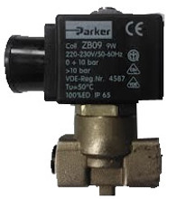 3 way In-Line Group Solenoid (220V or 110V)