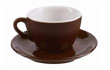 IPA dark brown aoste cappuccino cups