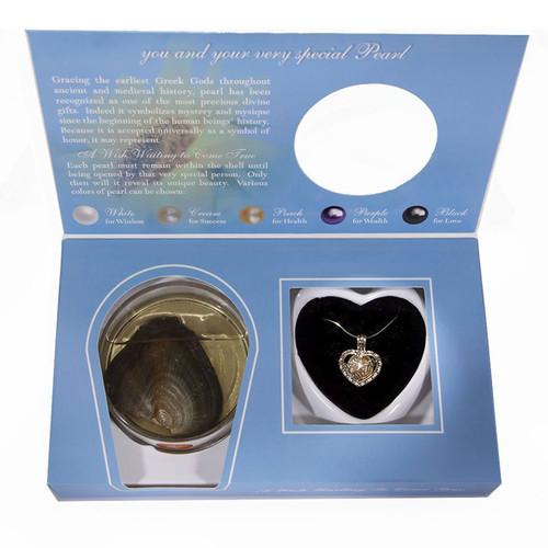 Best Mom Pearl in Oyster Jewelry Gift Set